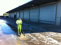 industrial pressure cleaning